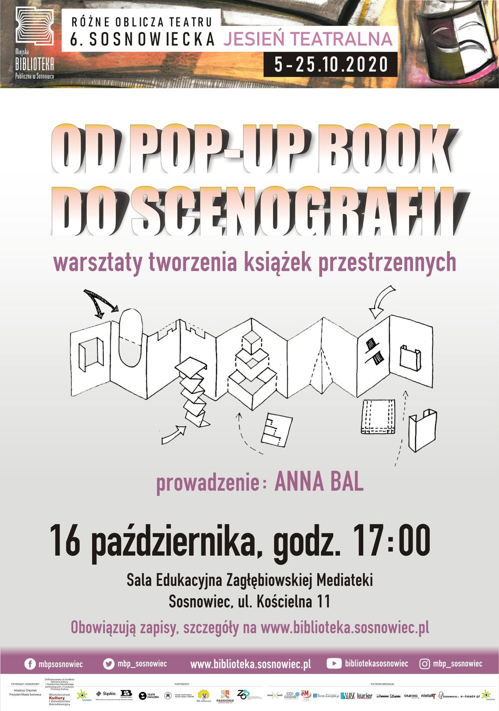 "Warsztaty ""Od pop-up book do scenografii"" – zapisy czas-start!"