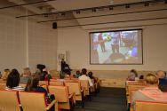 Galeria zdjęć ze spotkania z podróżniczką Sonią Bałą w Zagłębiowskiej Mediatece
