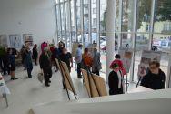 Wernisaż wystawy inaugurującej 7. Sosnowiecką Jesień Teatralną