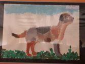 Prace plastyczne dzieci - wystawka na Środuli