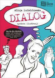 Plakat - wystawa DIALOG